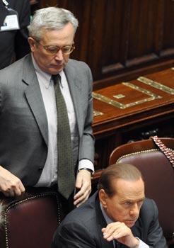 Berlusconi a Tremonti: «Riforma del fisco»