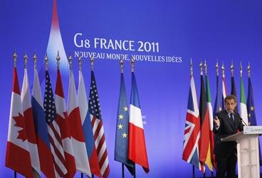 G8 a Deauville,