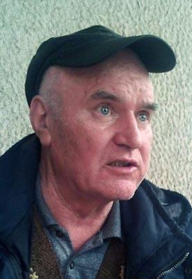 Ratko Mladic al Tpi dell'Aja