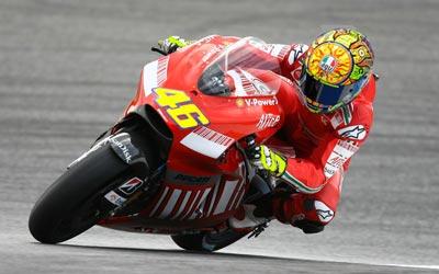 Valentino sulla Ducati GP2012