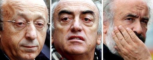 Calcio: Moggi, Giraudo e Mazzini radiati
