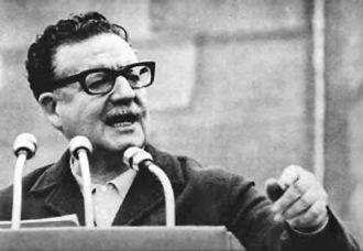 Cile, Salvador Allende si suicidò