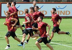 Calcio, la Roma riparte da Brunico tra molta curiosità