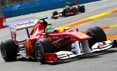 F1, a Valencia ennesimo trionfo di Vettel ma la Ferrari di Alonso c'è
