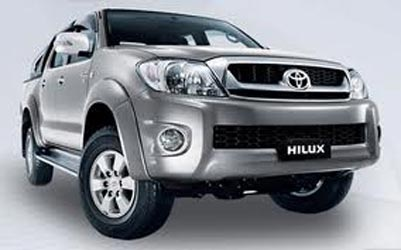 Toyota, in arrivo a settembre nuovo pick up Hilux
