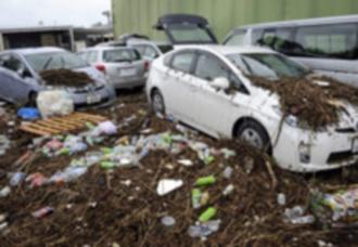 Giappone paese devastato, Roke colpisce