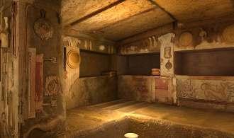 Una tomba etrusca rivive grazie al 3D