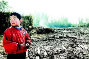Cina contaminazione dei suoli