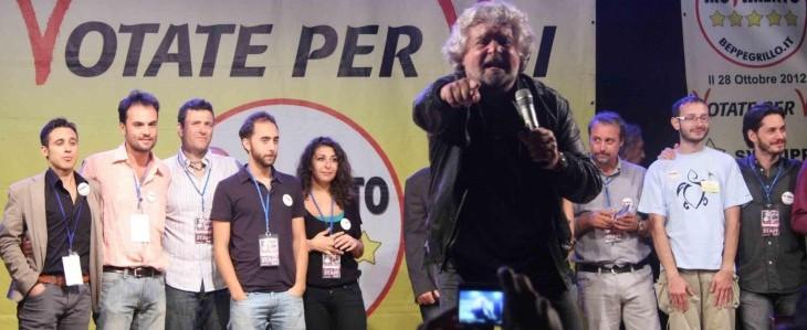 La continua ascesa di Beppe Grillo fa paura a tutti
