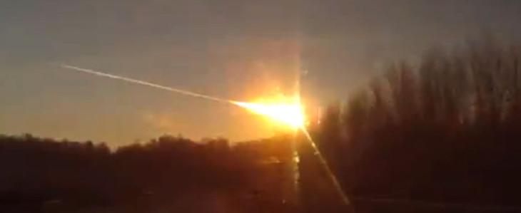 Russia: meteoriti dal cielo. 1000 feriti e tanti danni.