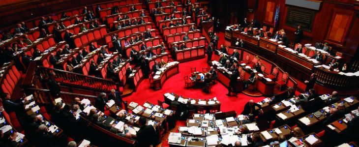 Parlamento: i seggi definitivi alle due Camere