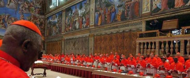 Chiude la Cappella Sistina in preparazione del Conclave