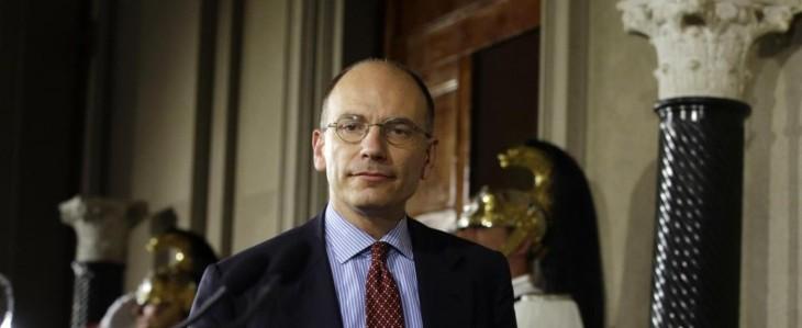 """Letta nomina il governo: """"nuovo, competente e determinato"""""""