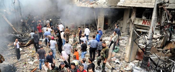 Siria, il regime usa l'aviazione contro il popolo