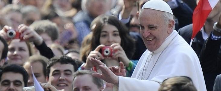 Il primo giorno di papa Francesco in terra carioca