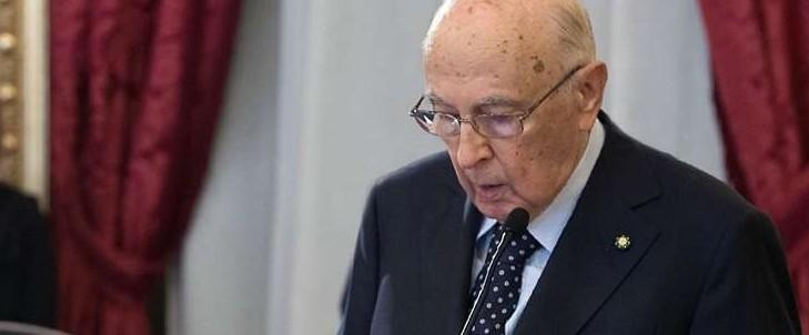 Napolitano su condanna Berlusconi: