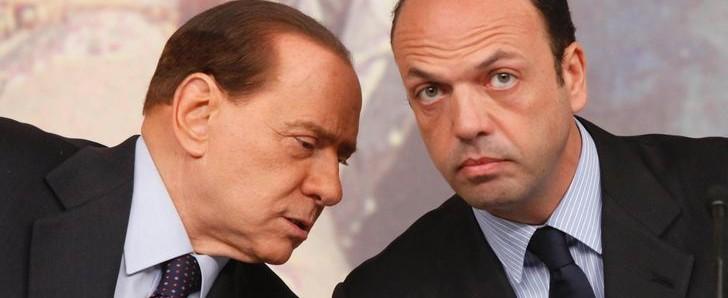Pdl: Alfano nel mirino. Berlusconi: al voto subito