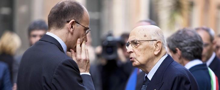 Intesa Letta-Napolitano per un chiarimento in Aula