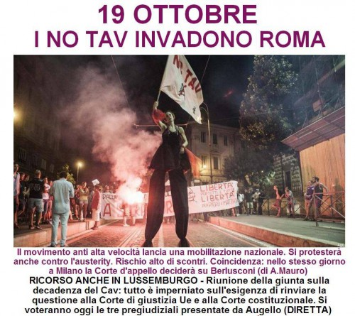 Corteo dei Movimenti per la casa e No Tav: l'assedio di Roma
