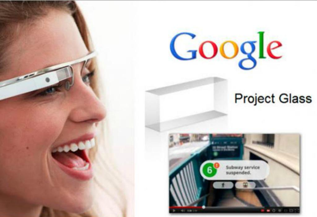 Benvenuti nel futuro: arrivano i Google glass
