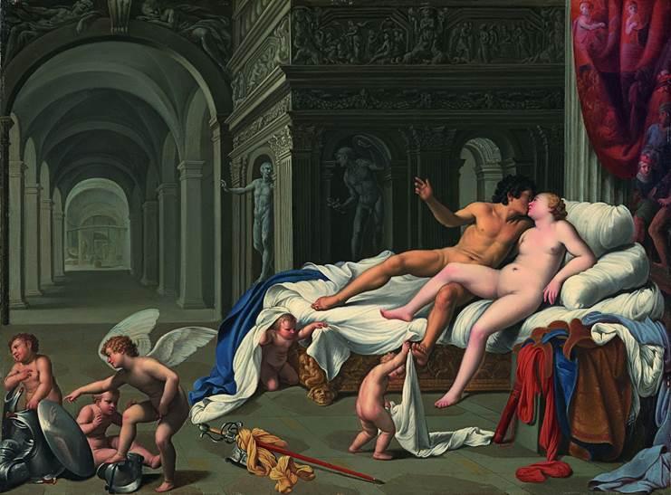 Roma, mostra del pittore Saraceni a palazzo Venezia