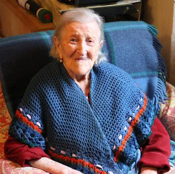 È' di Verbania la nonna d'Europa: oggi compie 114 anni