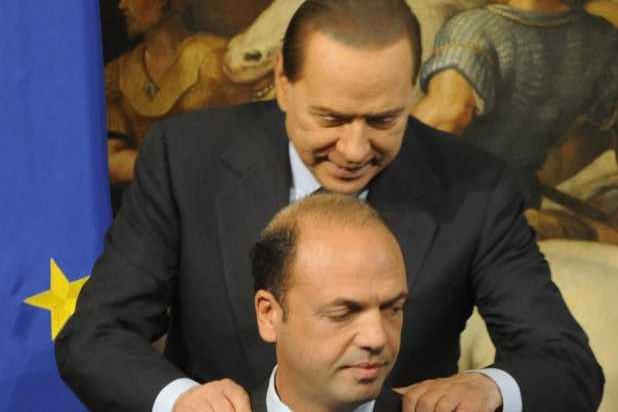 Alfano sempre più lontano da Berlusconi