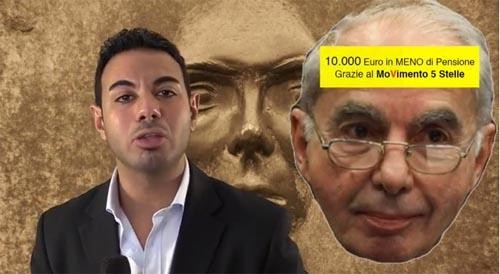 Il piano grillino per tagliare le pensioni d'oro