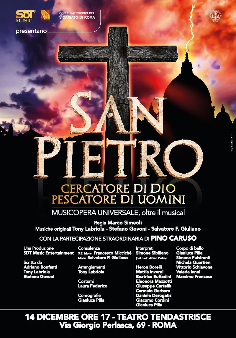 Roma, anteprima nazionale per il musical su San Pietro