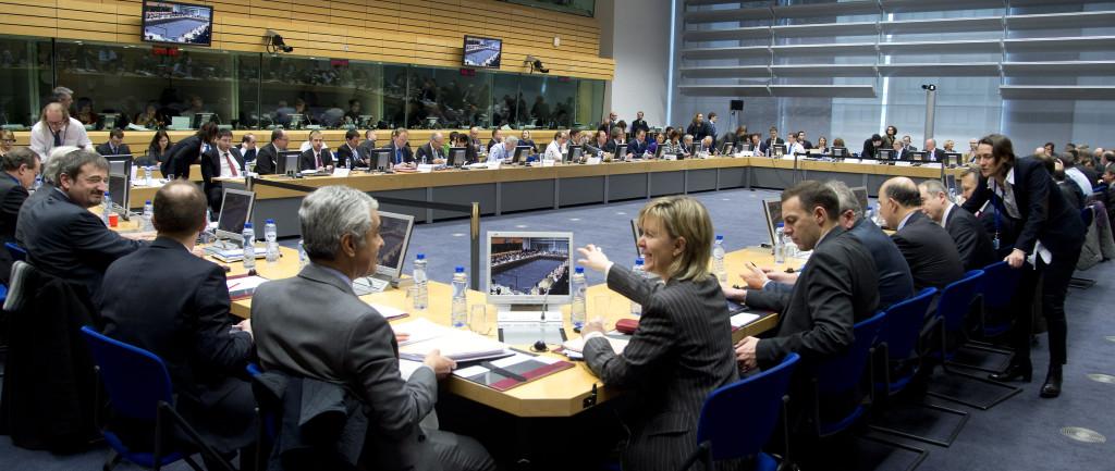 Il vertice Ecofin di ieri
