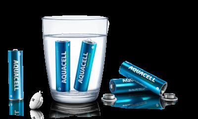 Ricaricarsi con l'acqua: arrivano le batterie Aquacell