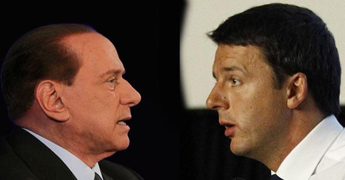Berlusconi-e-Renzi