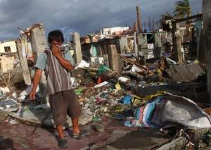 Continua l'emergenza umanitaria nelle Filippine