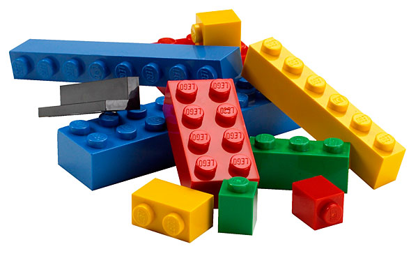 Nel mondo é Lego Bombing mania
