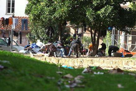 Roma, sgomberata di nuovo la favela di Colle Oppio