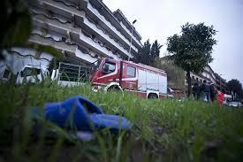 Esplosione a Roma in un residence di immigrati