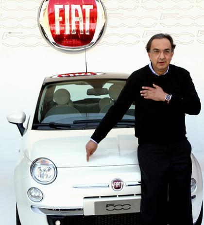 Marchionne al volante della Fiat fino al 2017. E va in Borsa