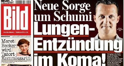 Schumacher, il tabloid Bild:
