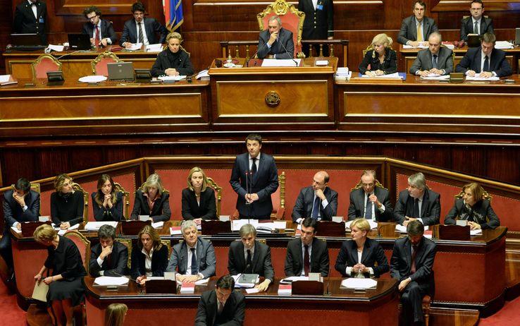 Renzi ottiene la fiducia del Senato. Oggi tocca alla Camera