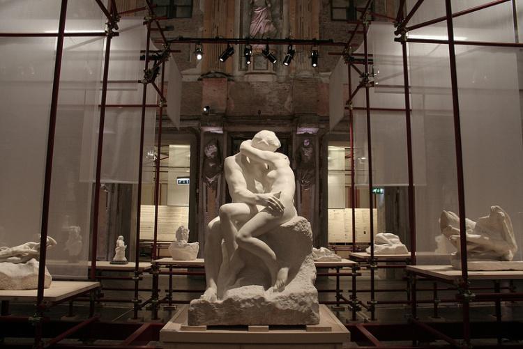 I marmi di Rodin in mostra a Roma alle Terme di Diocleziano