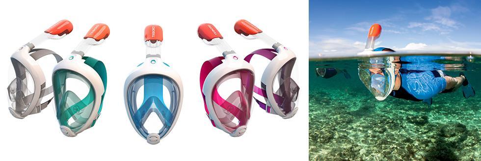 Easybreath, la maschera che fa respirare sott'acqua in modo naturale