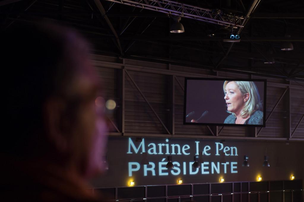 FRANCE-POLITICS-FN-LEPEN-CONGRESS