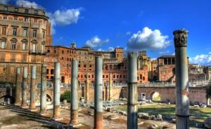 Roma-colonne-del-foro-romano