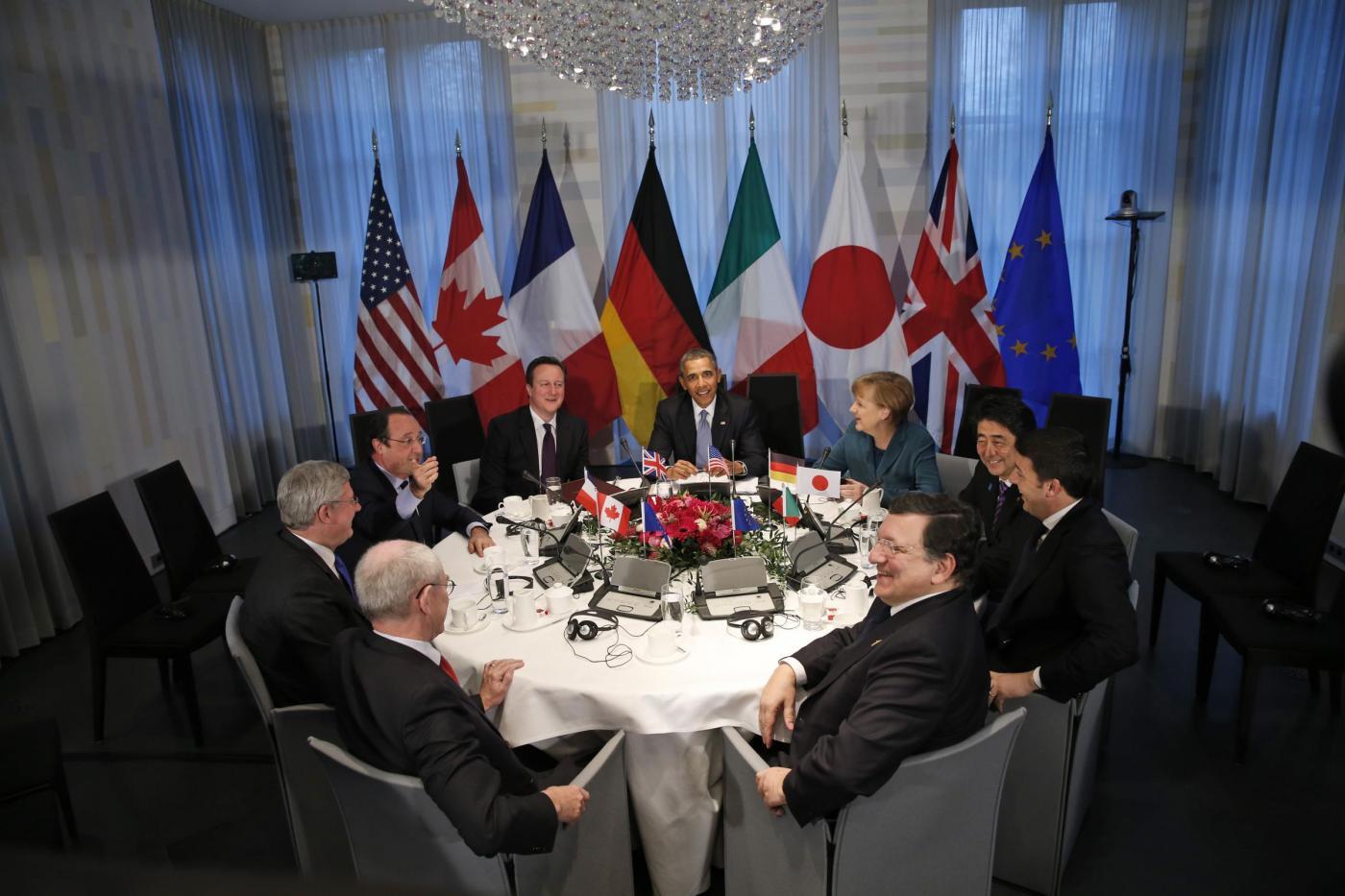 Sulla Crimea il G7 sfida Putin. Berlusconi: scelte avventate