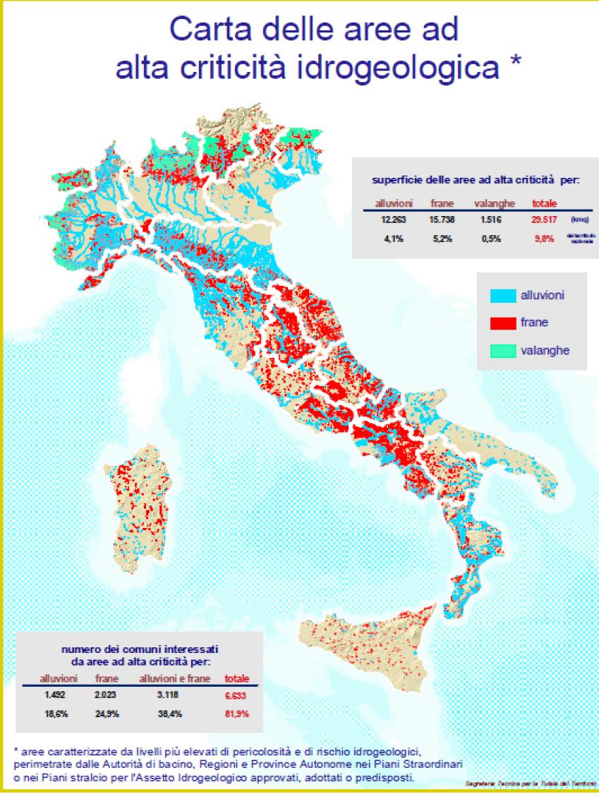 Mappa paesaggi vulcanici la mappa dei terremoti degli ultimi 30 anni e quella del rischio idrogeologico thecheapjerseys Choice Image