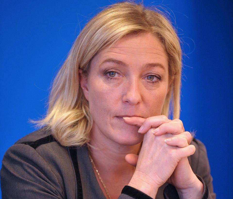 Le Pen dopo il trionfo:
