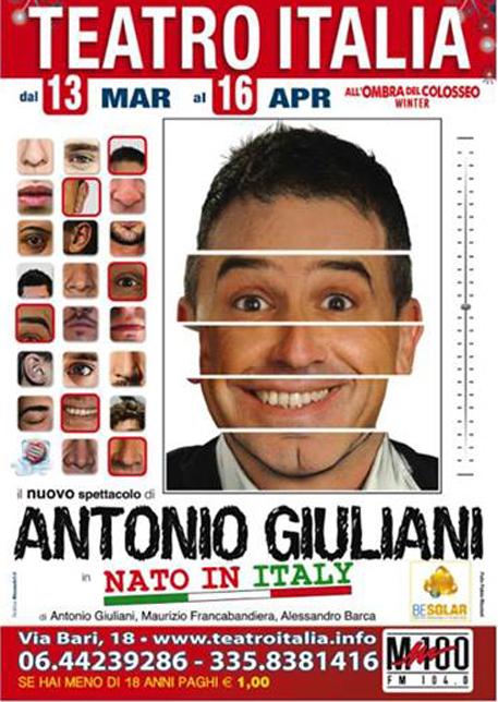 Antonio Giuliani e l'importanza di essere nato in Italy