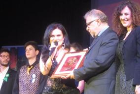 Vita Livia Bradascio con Gianni Errera