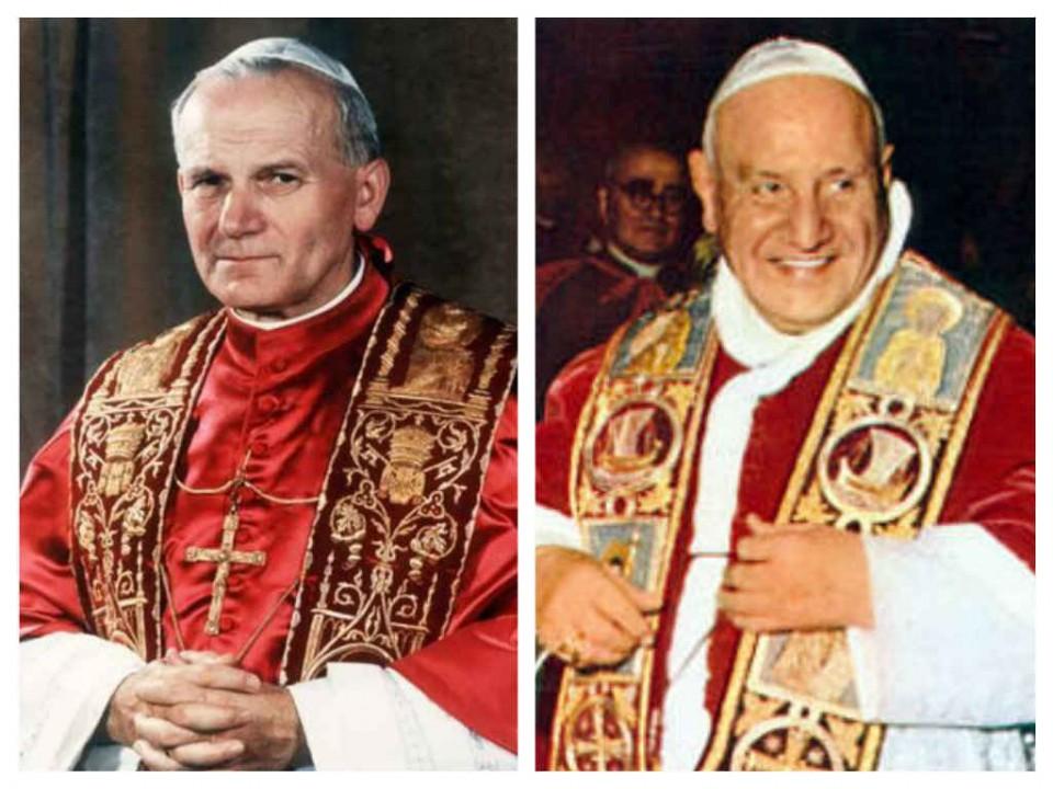 Il Papa buono e il Papa indimenticabile, aspettando il 27 aprile