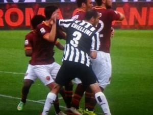 "il ""casus belli"" in Roma-Juve"